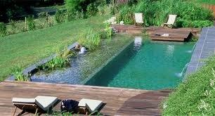 la piscine naturelle une piscine la maison. Black Bedroom Furniture Sets. Home Design Ideas