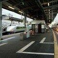 Shinkansen 100 en gare d'Okayama