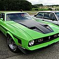 Ford mustang mach1 fastback coupe 1971-1972