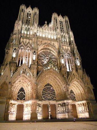 la cathédrale de Reims