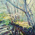 07 Pastels récents, ruisseaux au bois de Vincennes