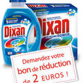 Dixan : 2 euro de réduction