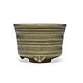 A small longquan celadon censer, china, yuan-ming dynasty (1279-1644)