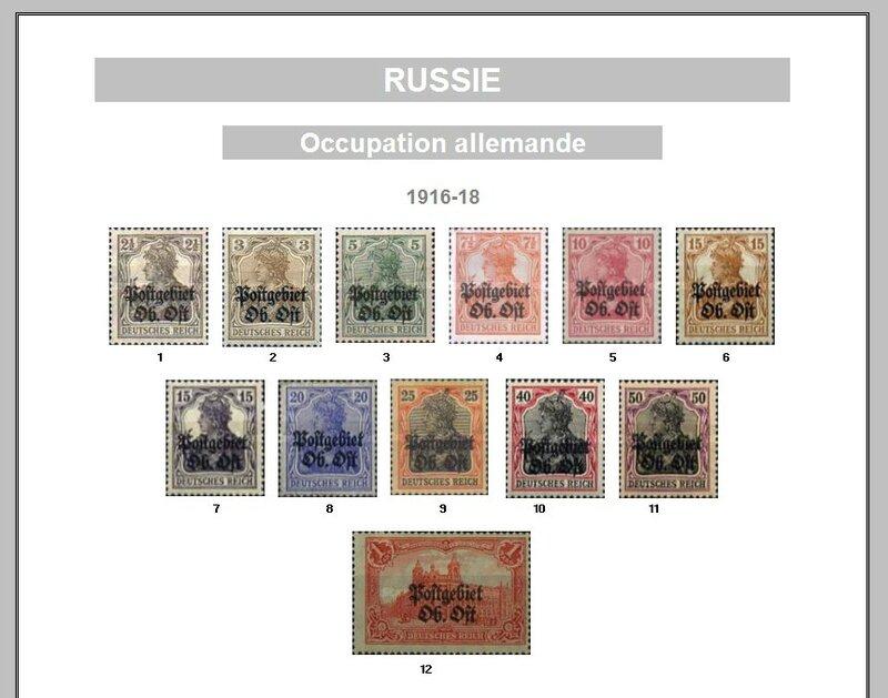 RUSSIE OCC ALLEMANDE