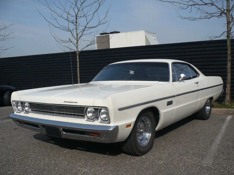 PLYMOUTH Fury III 2door hardtop 1969 Mulhouse (1)