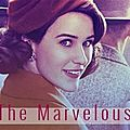 Hors-saison challenge séries 2018 #4 : the marvelous mrs. maisel