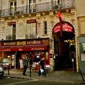 Instantané rue du Faubourg Montmartre.