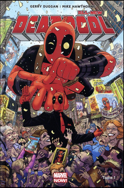marvel now all new deadpool 01 le millionaire disert