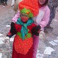 Une fraise pour carnaval