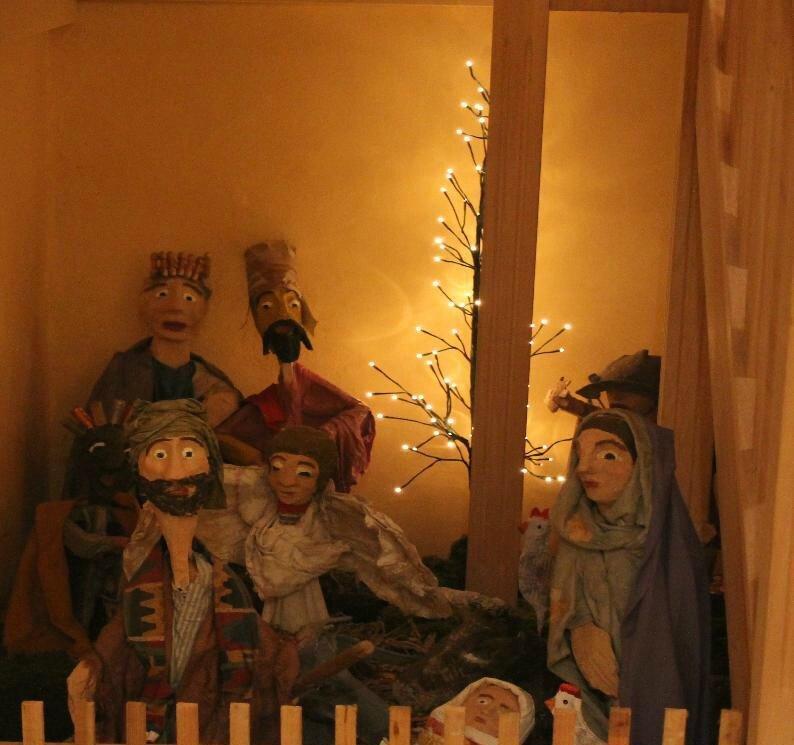 La visite du Musée de la Crèche à Muzeray