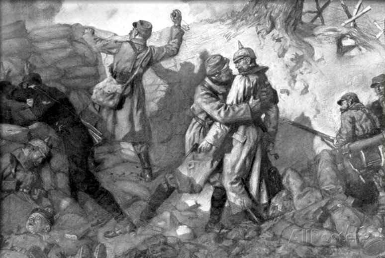 Jonas conquete du fort de Lorette Artois 1915