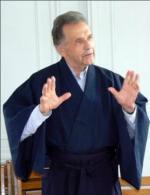 Jacques Breton avec l'habit zen