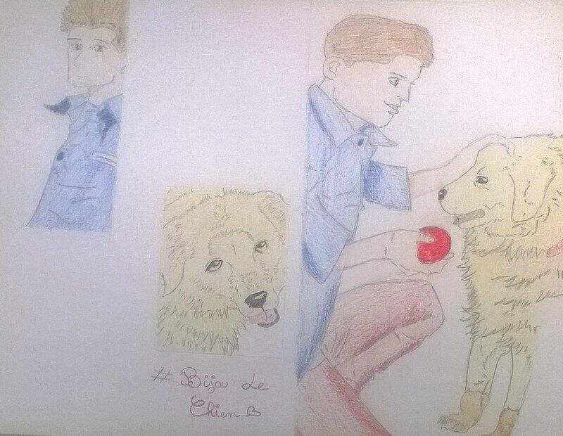 le garçon et le chien