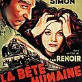 La bête humaine. jean renoir. 1938.