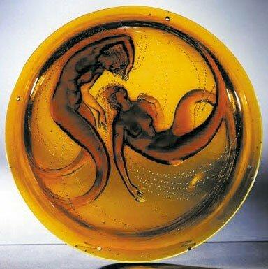 Lustre - Lustre aux deux Sirènes