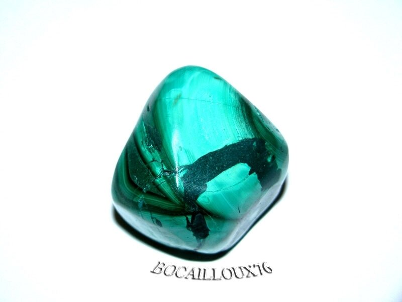 MALACHITE 8 Roulée - Pour CREATION - LITHOTHERAPIE
