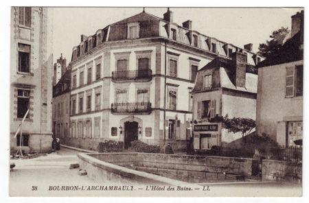 03 - BOURBON L'ARCHAMBAULT - Hotel des bains