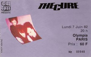 1982_06_The_Cure_Olympia_Billet