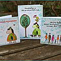 Trois petite cartes stampotique / three little cards - sdc234 time challenge 30 minutes or less