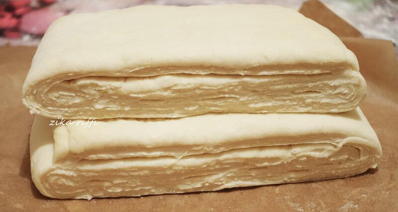 pâte feuilletée levée- pâte à couque 8