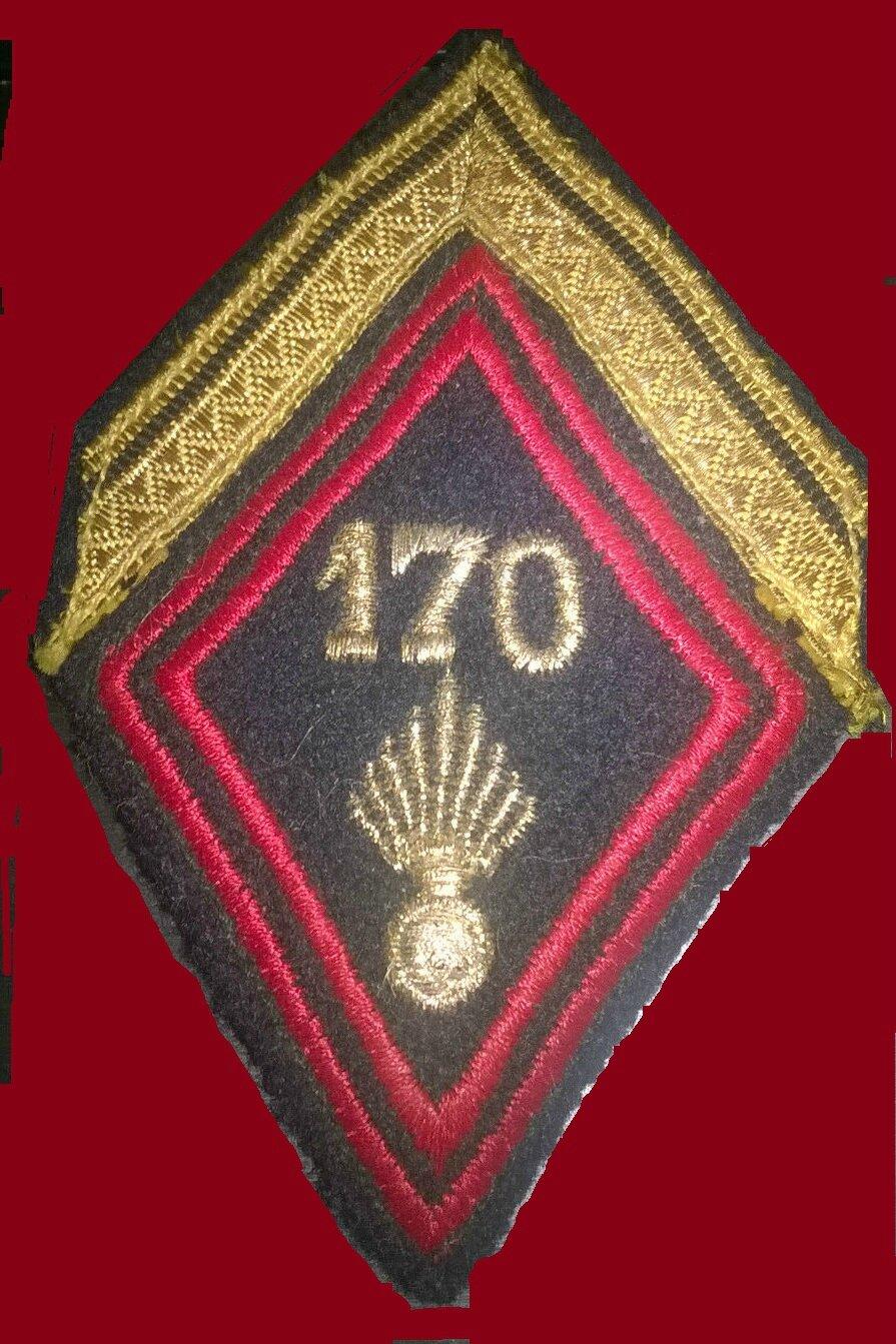 170e RI losange de bras de sergent engagé