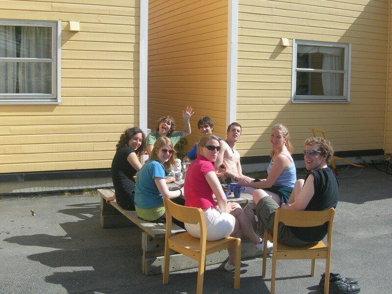 Dernier café avant le départ/Last coffee in Tromsø