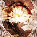 sunny explosion background