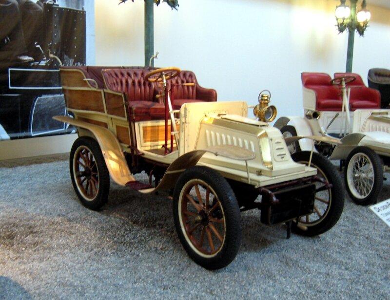 De Dion Bouton tonneau V de 1904 (Cité de l'Automobile Collection Schlumpf à Mulhouse) 01