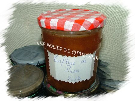 Confiture de prunes 6