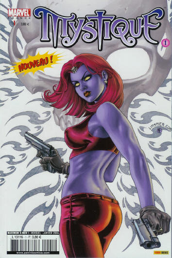 maximum x-men 01 mystique 1