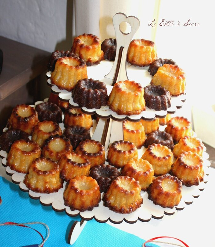 Cannelés choco