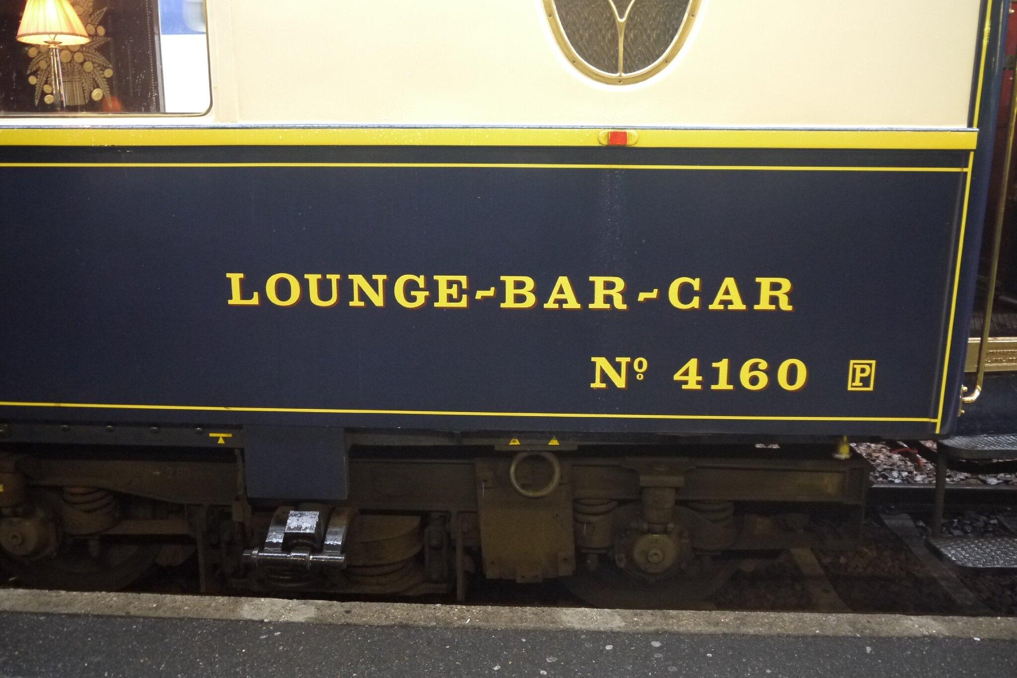 Voiture Pullman Salon Bar (Train Bleu)