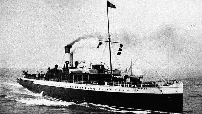 Sussex navire