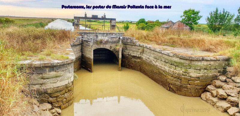 Portereaux, les portes du Marais Poitevin face à la mer- Anse du Braud (2)